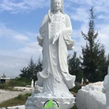tượng đá quan âm