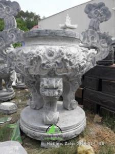 Đỉnh hương đá - Đá mỹ nghệ Công Vượng 0966.534.186