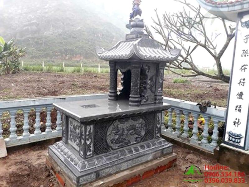 Lăng mộ đá 1 mái
