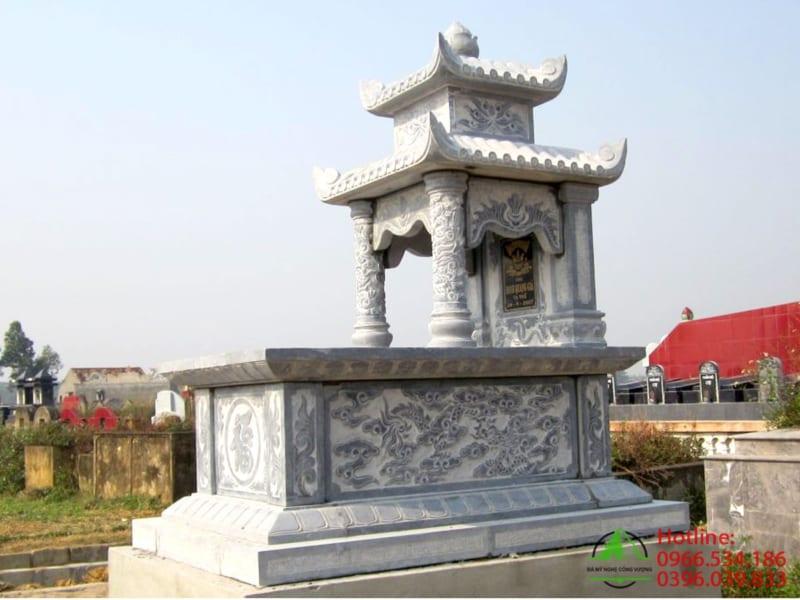 Lăng mộ đá 2 mái